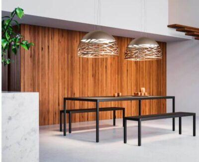 Kelly Dome Lodes Lampadario Moderno Oro Opaco