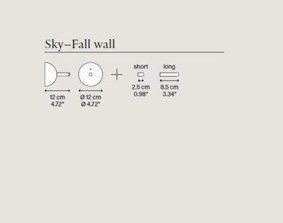 Rosone a parete per Sky-Fall Lodes