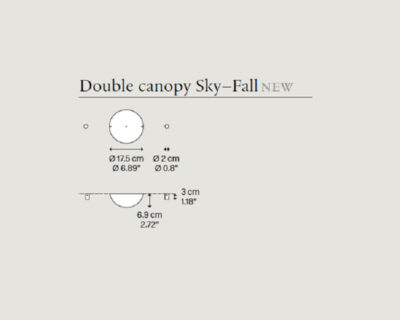 Rosone doppio per Sky-Fall Lodes