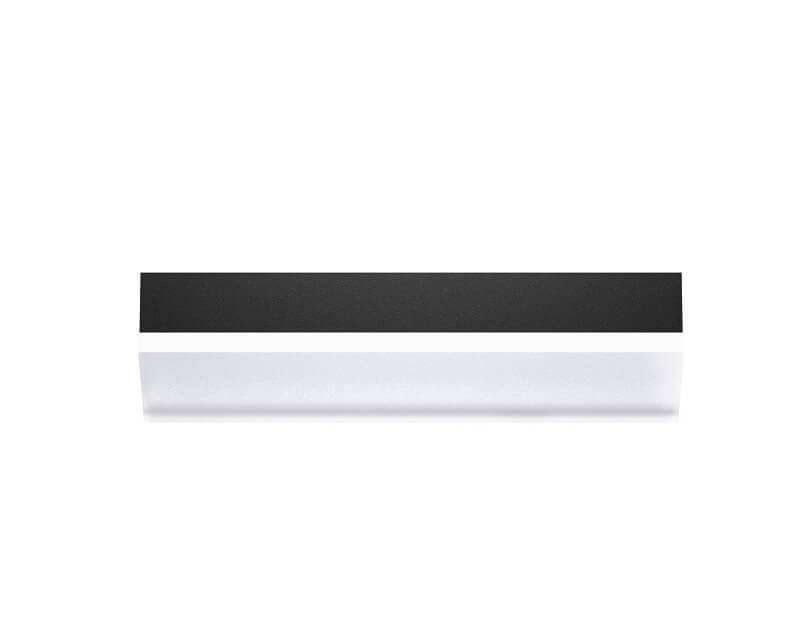 Applique Led Moderna Nera Igloo S Linea Light
