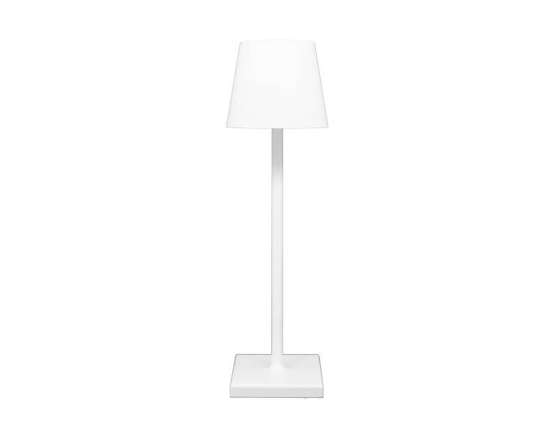 Lampada Da Tavolo Ricaricabile Bianca Lievo Beneito&Faure