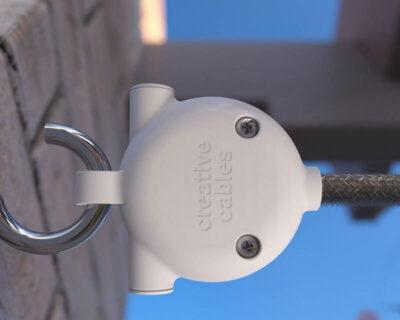 Gancio per catenarie da esterno Eiva Creative Cables