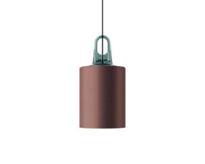 Jim Cylinder Lodes Sospensione di Design Bronzo turchese