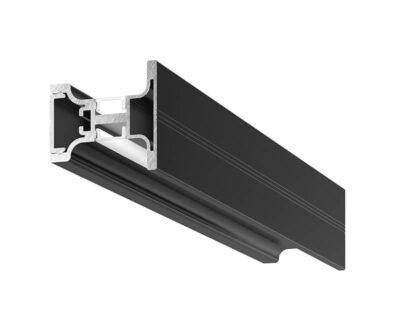 Riga AF Gea Luce Profilo In Alluminio Nero Per Strip Led