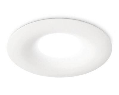 Faretto a Incasso Tondo Bianco Venus Gea Luce