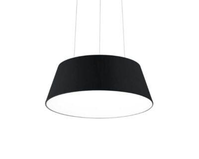 Cloe Ideal Lux Lampadario Moderno Nero Circolare