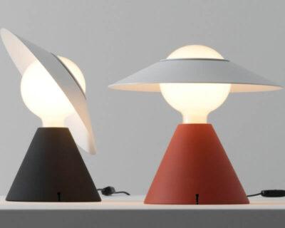 Fante Stilnovo Lampada da Tavolo Design 1978