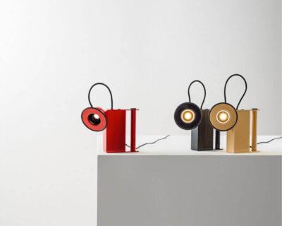 Minibox Stilnovo Lampada Da Tavolo Led Vintage 1981