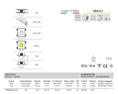 bolle-faretto-led-in-gesso-decorativo-a-scomparsa-belfiore-8935A-tecnica