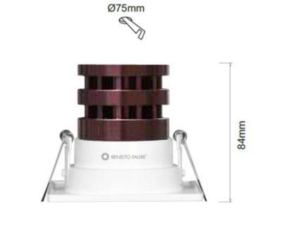 faretto-led-10w-quadrato-bianco-shot-beneito-dimensioni