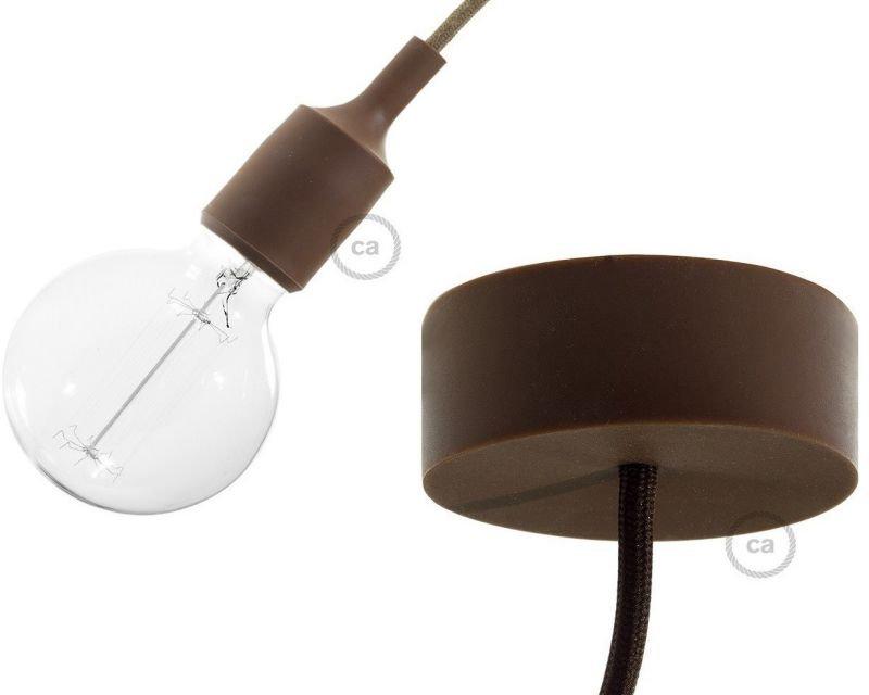 Sospensione caffè in silicone creative cables lightinspiration.it