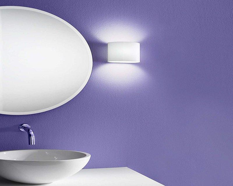 Lampadari da bagno fresco vetro led bagno specchio lampada da