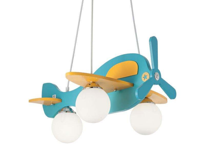 Avion ideal lux lampadario colorato bimbi camerette for Lampadari da stanzetta