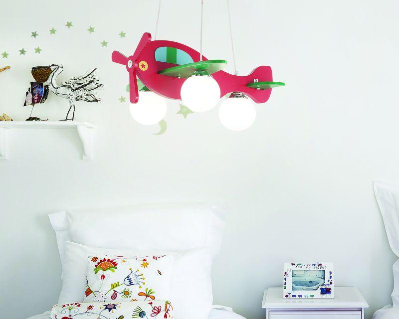 Avion ideal lux lampadario colorato bimbi camerette for Lampadari per stanzetta