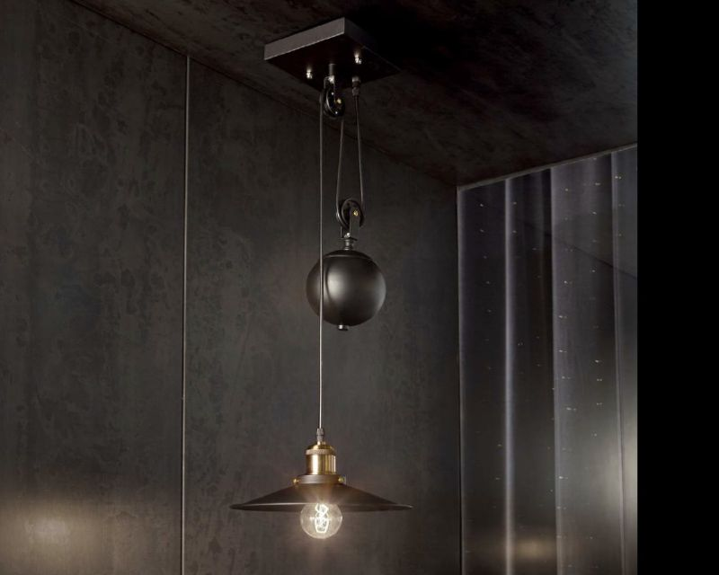 Up and Down Ideal Lux | Lampadario classico industriale ...