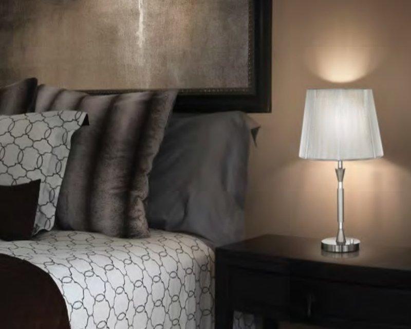 Paris lampada da tavolo dimmerabile ideal lux for Ideal paris