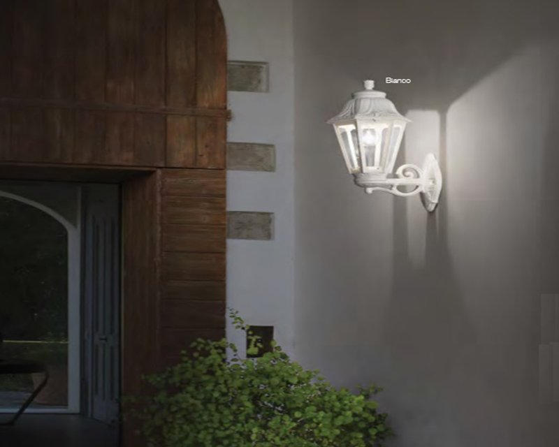 Anna ap ideal lux applique classica per esterni