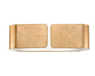 Glodie antealuce applique in foglia oro lightinspiration