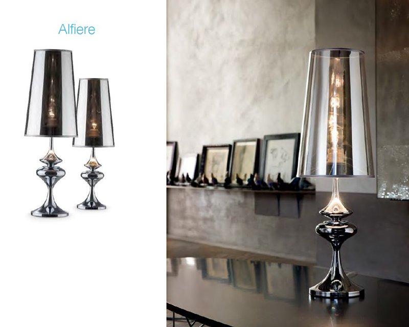 Alfiere tl ideal lux lampada da tavolo classica - Lampada da tavolo classica ...