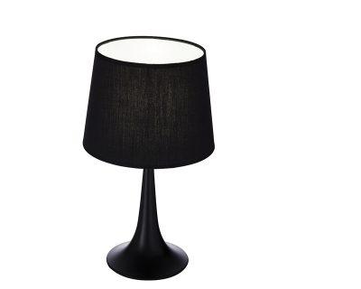 London Tl S Ideal Lux Lampada da Tavolo Nera