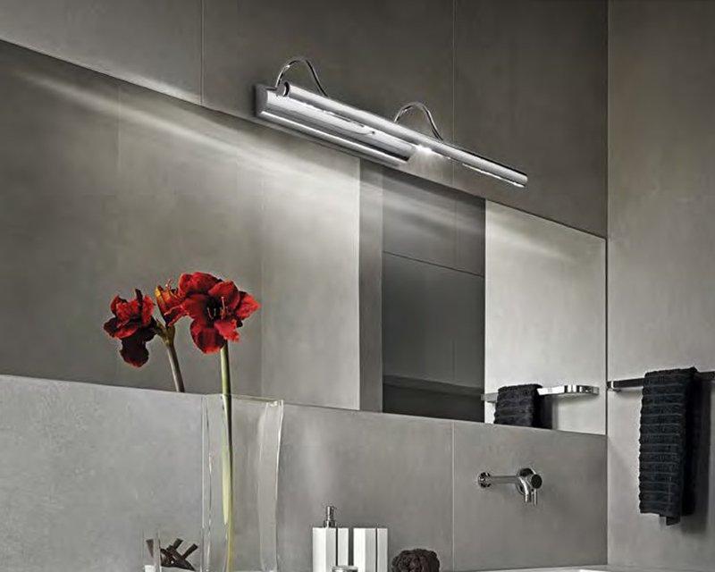 Mirror ideal lux applique orientabile da parete