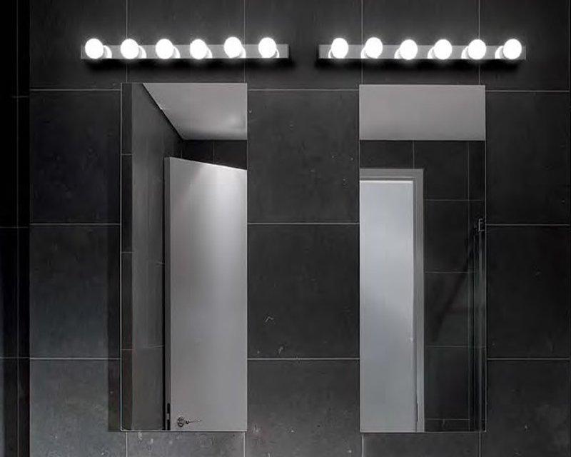 Prive cromo ideal lux lampada da parete lightinspiration