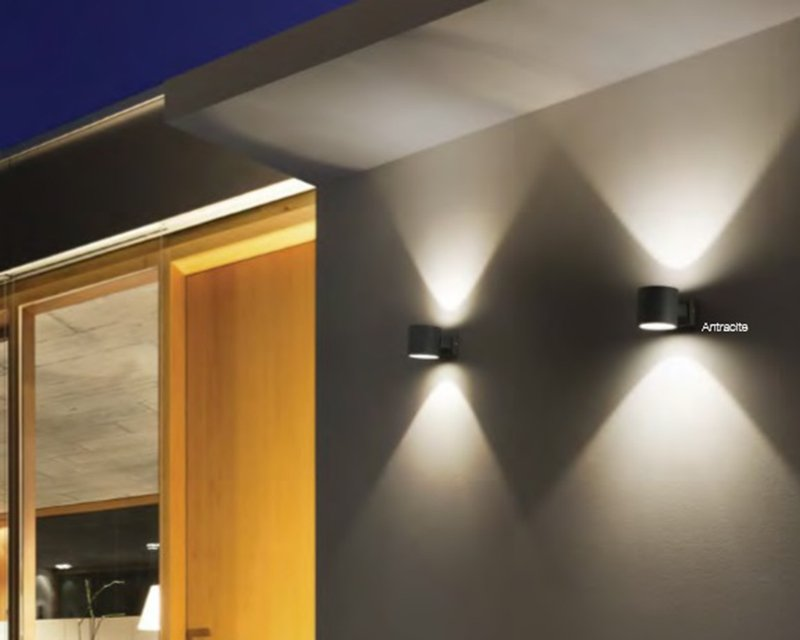 Snif square ideal lux applique per esterni lightinspiration