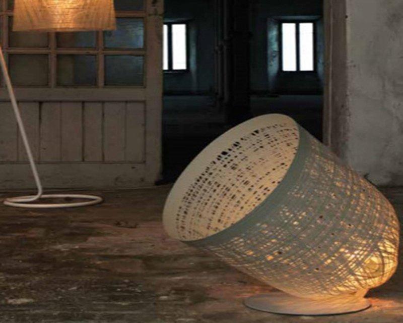 Black out karman lampada da terra di design lightinspiration.it