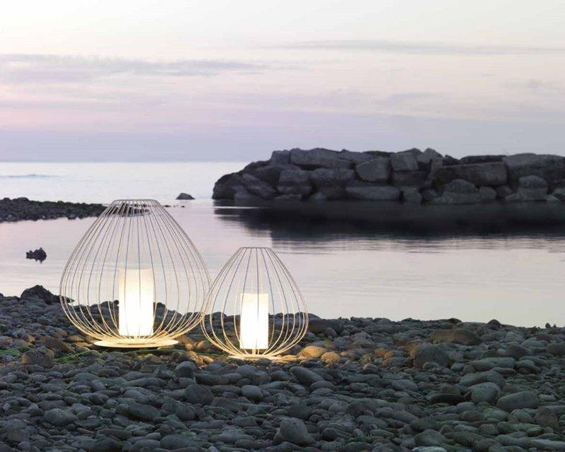 Lampade da terra per esterno in ottone archiproducts
