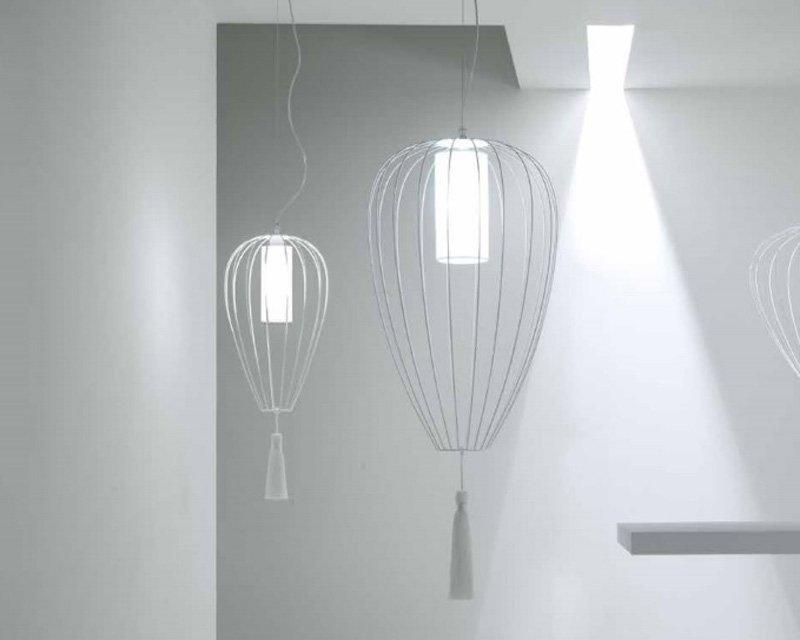 Cell karman sospensione bianca design per interni - Design per interni ...