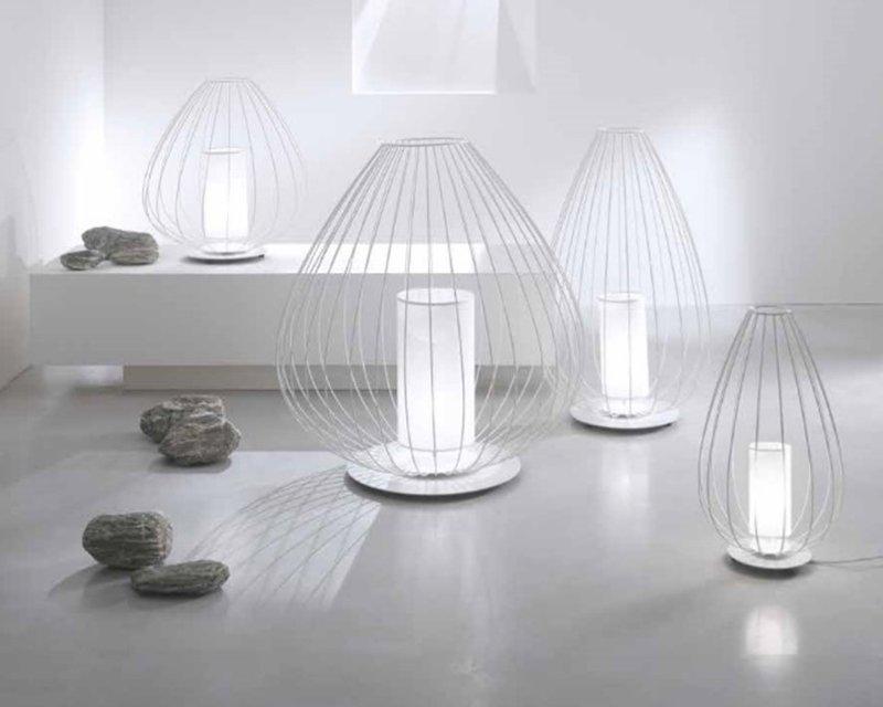 Cell karman lampada moderna da tavolo e terra lightinspiration