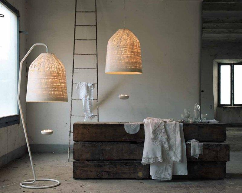 Black ount karman piantana di design per interni for Piantana design