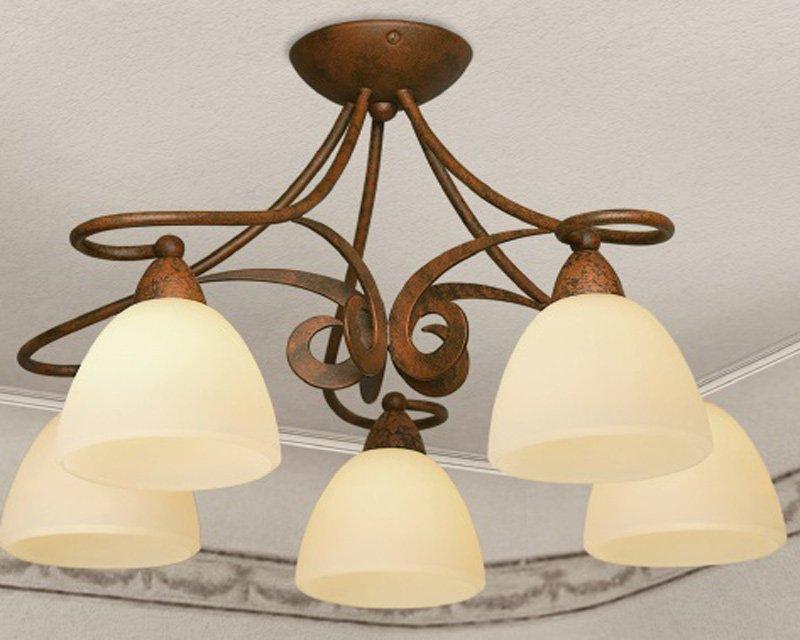 Plafoniere Classiche A Soffitto : 1730 5 pl lam lampada a soffitto classica luci lightinspiration