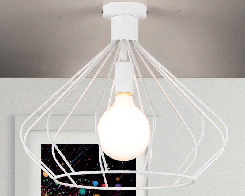 Plafoniere Stile Industriale : Belle epoque gd0139 lam plafoniera moderna lightinspiration.it