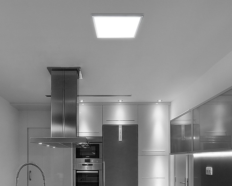 Plafoniere Quadrate A Led : Ecofit leds c4 plafoniera led moderna quadrata lightinspiration.it