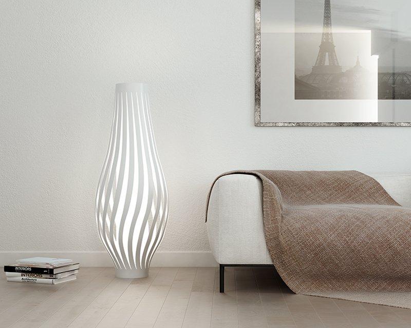 DAMA Lampada da Terra Linea Zero - Lightinspiration