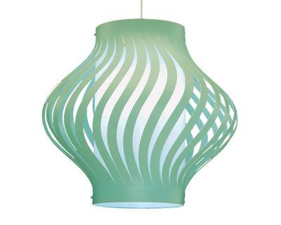 helios-lineazero-verde-lampadario-moderno