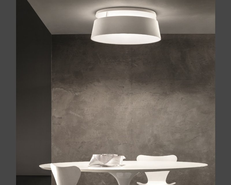 Lampade Da Soffitto Moderne A Led : Oxygen s ma de plafoniera led dimmerabile lightinspiration