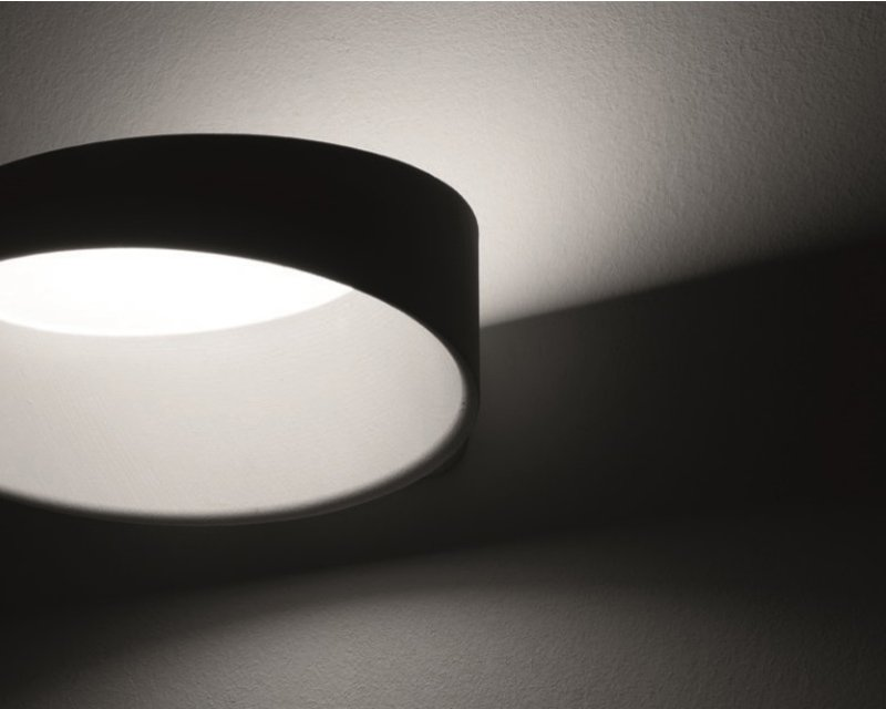 Plafoniera Muro Led : Oxygen ma&de lampada parete led 17w dimmerabile lightinspiration.it