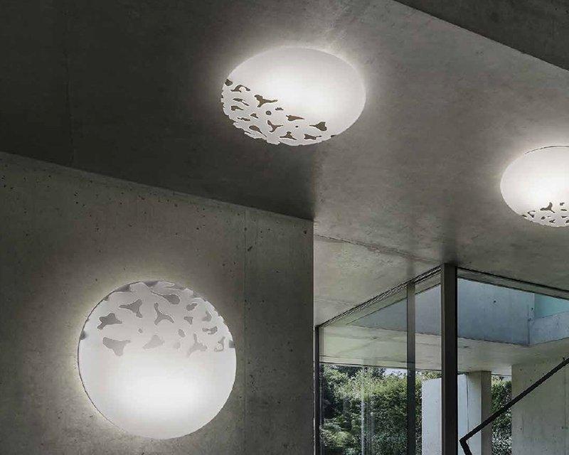 Plafoniere In Vetro Moderne : Aquaria sil lux plafoniera moderna lightinspiration
