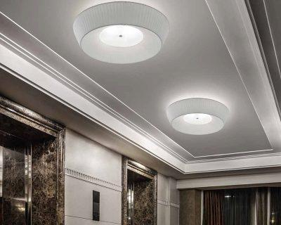 Cannes ap sil lux applique classica in tessuto lightinspiration