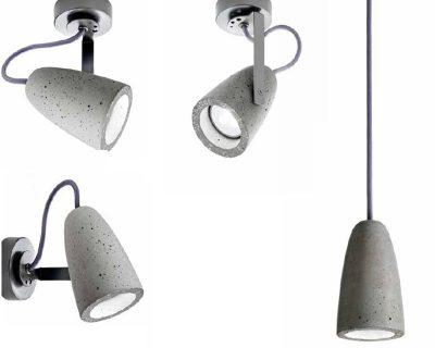 Forata-Sil-Lux-Plafoniera-applique-stile-industriale