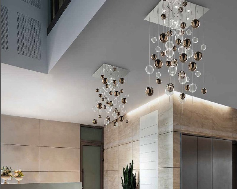 Plafoniere Design : Niagara ls sil lux plafoniera di design lightinspiration.it