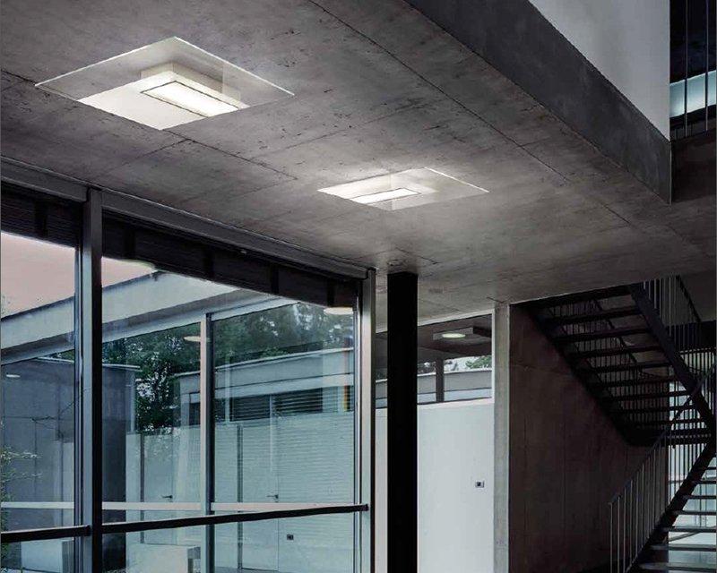 Plafoniera Grandi Dimensioni : Quadra ta sil lux applique plafoniera moderna lightinspiration