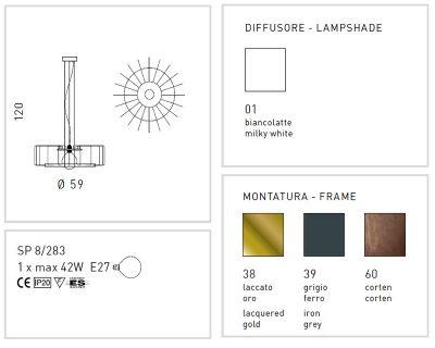 futura-lampadario-immagine tecnica