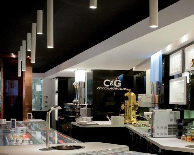 Plafoniere Da Soffitto Design : A tube m studio italia design plafoniera moderna