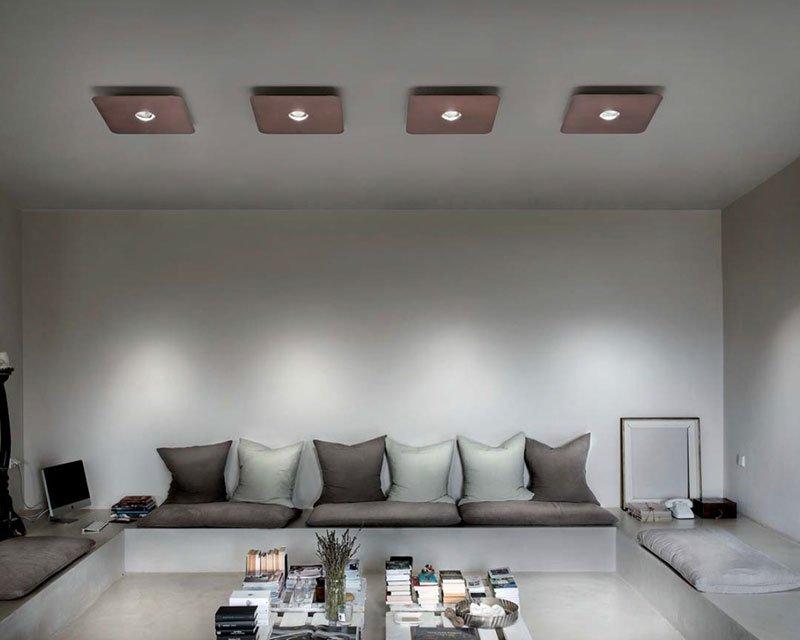 Plafoniere Per Studio : Frozen studio italia design lampada a soffitto led