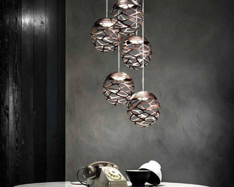 Kelly cluster studio italia design sospensione led - Luci sospensione design ...