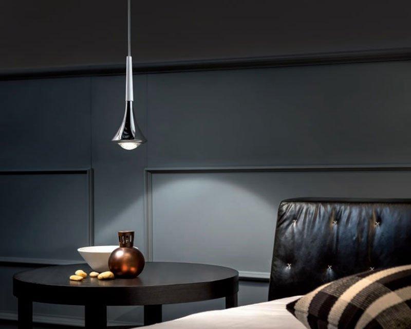 rain studio italia design sospensione led dimm. Black Bedroom Furniture Sets. Home Design Ideas