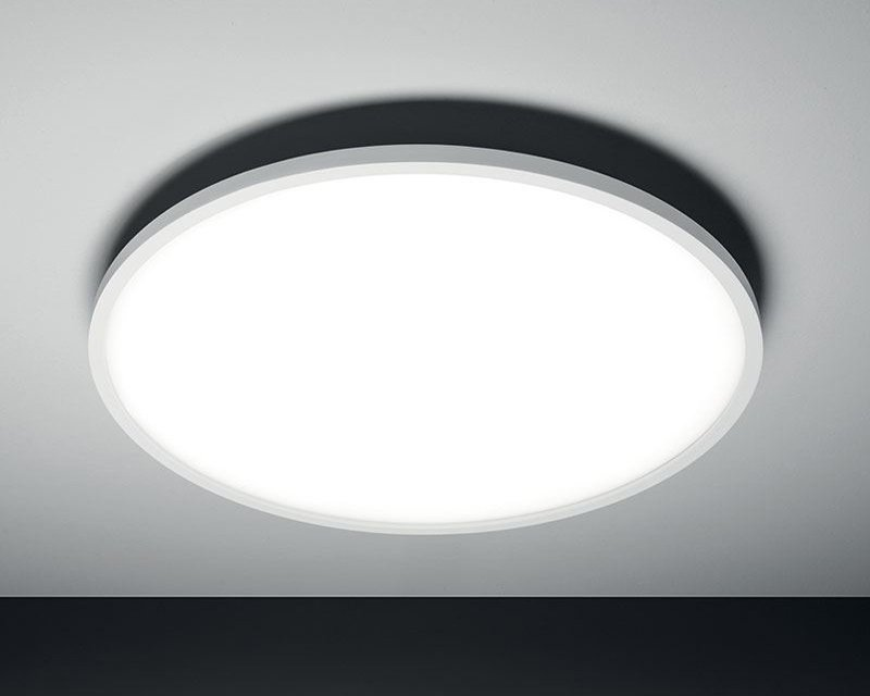 Plafoniere Led A Soffitto Moderno : Halo vivida international plafoniera led moderna lightinspiration.it